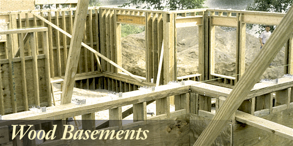 home inspector finds a wood basement when listed on mls as